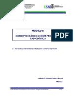 Curso General de Formación de Actuantes en Emergencias Nucleares. TEMA 00. Conceptos Básicos Sobre Protección Radiológica