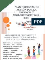 Plan Nacional de Acción Por La Infancia y