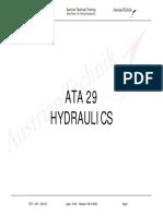 A320 ATA 29 L3 TECHNICAL TRAINING MANUAL