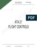 A320 ATA 27 L3 TECHNICAL TRAINING MANUAL