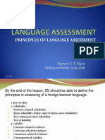 Session 2 Principles of Language Assessment Shared