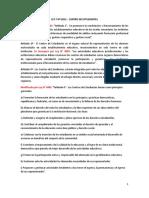 Ley 2812 (Centro de Estudiantes- Actualizada Por Ley 4983) Rio Negro