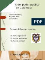 Ramas Del Poder Público en Colombia