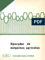 Colecciones Básicas Cinterfor (CBC) - Operador de Maquinaria Agrícola