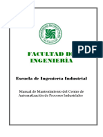 Manual de Mantenimiento robot