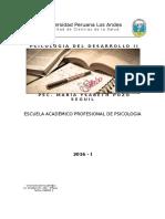 Silabo Psicologia Del Desarrollo II 03-06-2016