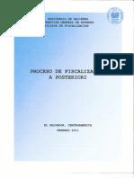 Proceso de Fiscalizacion a Posteriori