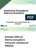 1 Panorama Energético Brasileiro