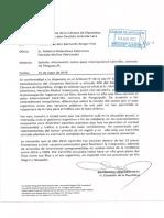 Berger solicitca a Ministro Relaciones Exteriores informe sobre paso internacional Carirriñe, comuna Panguipulli