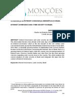 Governança Da Internet e Segurança Cibernética No Brasil