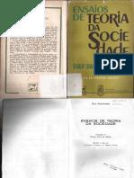 DAHRENDORF, R. Os Valores e a Ciência Social