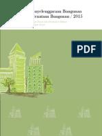 Volume 5. Pembinaan Penyelenggaraan Bangunan Gedung Dan Penataan Bangunan