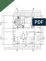 plano de arquitectura con detalles