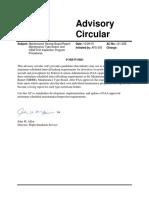 FAA Advisory Circular AC121-22b