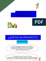 Teoría Sobre Proyectos