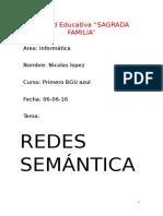 Redes Semanticas-Nicolas Lopez