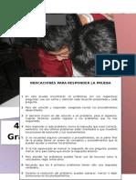 Examen Matematicas - Huacho, Primaria