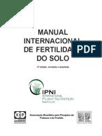 Livro Manual Internacional de Fertilidade Do Solo