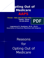 The 2016 Physician's Guide to Opting Out of Medicare