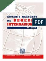 Anuario de Derecho Internacional