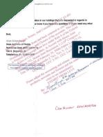 Response to Foreclosure Civil Suit