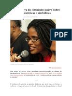 A Perspectiva Do Feminismo Negro Sobre Violências Históricas - Djamila Ribeiro