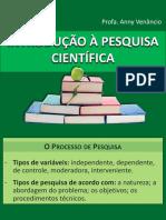 IPC O Processo e Tipos De Pesquisa