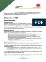Lineamientos Para Generar Un WBS