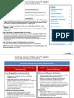 Making Home Affordable Program Servicer Performance Report Through April 2010
