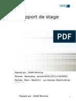 Rapport de Stage Settavex 2