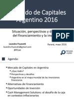 Mercado de Capitales Argentino 2016 - FINAL