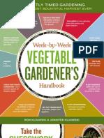 Week-by-Week Vegetable Gardener's Handbook Brochure
