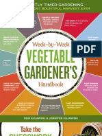 Week-by-Week Vegetable Gardener's Handbook Brochure
