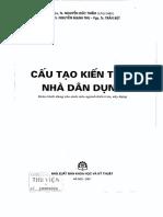 1. Cấu Tạo Kiến Trúc Nhà Dân Dụng - Nguyễn Đức Thiềm, Nguyễn Mạnh Thu, Tran But