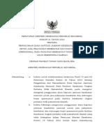 PMK No. 21 Ttg Dana Kapitasi JKN Pada FASKES Tingkat Pertama PEMDA