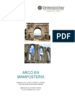 Arco en Ladrillos de manposteria