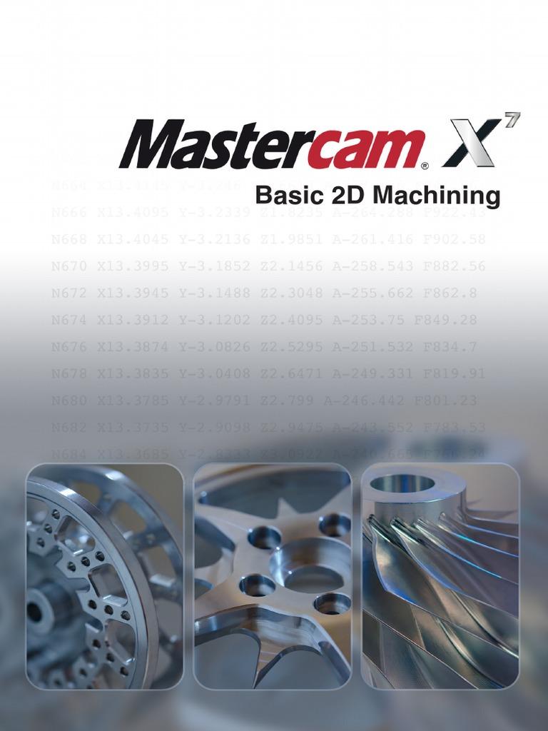 Basic 2D Machining Tutorial | Machine Tool | Machining