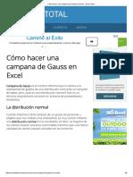 Cómo hacer una campana de Gauss en Excel - Excel Total.pdf