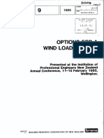 Options for a WInd Loading Code
