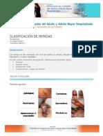 Clasificacion de Heridas 2015