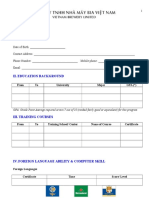 Application Form Mt