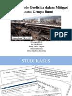 Aplikasi Metode Seismik Refleksi Dalam Eksplorasi Batubara
