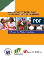 Positive Discipline in Everyday Teaching - A Primer for Filipino Teachers