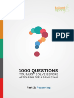 Reasoning question bank for IBPS