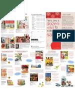 Storey Sewing Books Brochure
