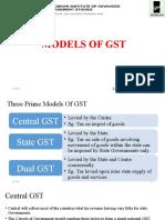 Models of Gst