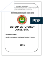 Sistema de Consejeria c e i 2015