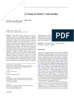 Conceptual Change in Students' Understanding of Boiling Concept (B Costu)