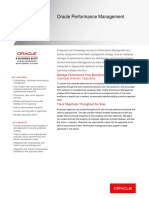 Oracle Performance Management