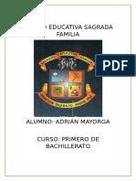 Unidad Educativa Sagrada Familia